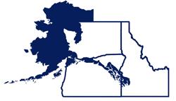 Northwest Region Map